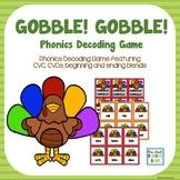 Thanksgiving Phonics Game