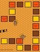 Gobble, Gobble Race game board