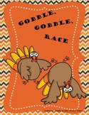 Gobble, Gobble Race game board