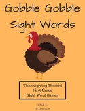 Gobble Gobble Sight Word Games