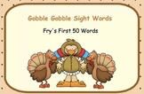 Gobble Gobble Sight Words