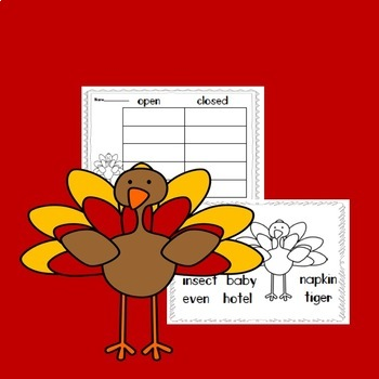 Gobble, Gobble, Syllables