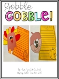 Gobble! Gobble! Thanksgiving Crafts and Writing Prompts