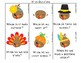 Gobble Gobble! Thanksgiving Language Activities