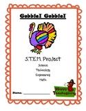 Gobble! Gobble! Thanksgiving STEM project