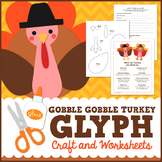 Thanksgiving Turkey Glyph Craft and Worksheets