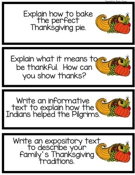 gobble gobble thanksgiving writing prompts for the common core  gobble gobble thanksgiving writing prompts for the common core
