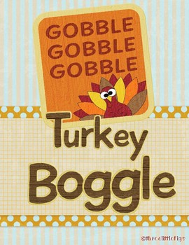Gobble Gobble Turkey Boggle