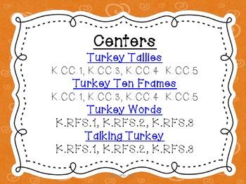 Turkey Centers