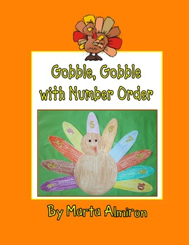 Gobble, Gobble with Number Order - November FREEBIE