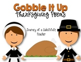 Thanksgiving Poem Pack