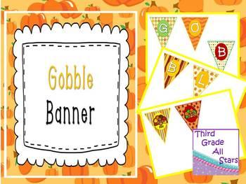 Gobble Mini Banner