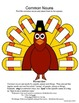 Parts of Speech - Thanksgiving Theme: Activities for 2nd & 3rd Grade