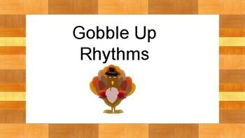 Gobble Up Rhythms