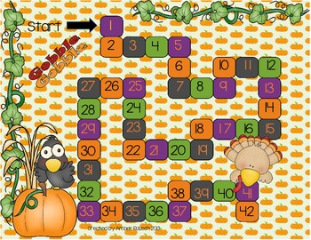Thanksgiving Math Activity {Place Value}