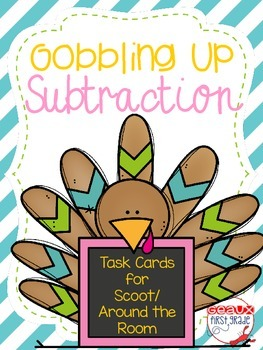 Gobble Up Subtraction