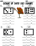Gobble Up These Fact Families FREEBIE