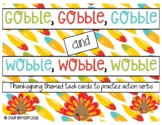 Gobble and Wobble: Fall (Thanksgiving) Themed Task Cards f
