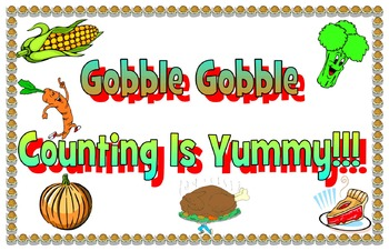 Gobble gobble counting is yummy