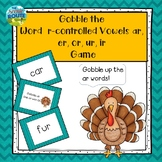 Gobble the Word R-Controlled Vowels Game