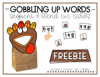 Gobbled Up Words: Segment and Blend