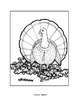 Gobblers Coloring Sheets