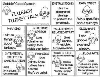 Gobblin' Good Speech -  Speech & Language Turkey Talk