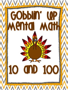 Gobblin' Up Mental Math
