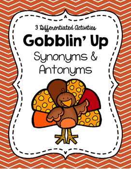 Gobblin' Up Synonyms and Antonyms