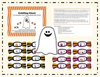 Gobbling Ghost:  An Articulation Game Targeting Multisyllabic Words