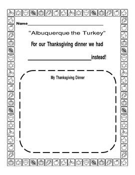 Gobbling Good Turkey Center Activities