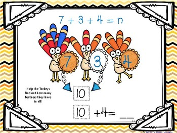 Addition Strategies to Gobble Up!