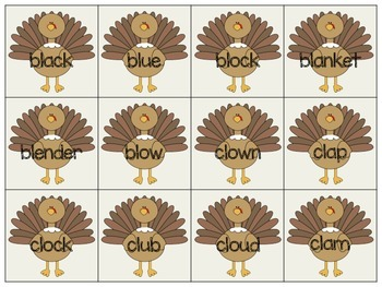 Gobbling Up Beginning Blends Bundle