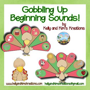 Gobbling Up Beginning Sounds!