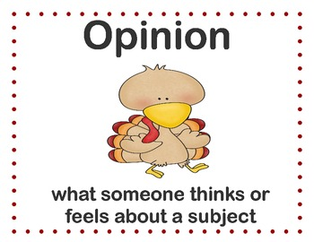 Gobbling Up Fact and Opinion