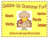 Gobbling Up Grammar Fun