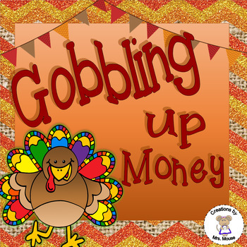 Math- Money - Counting Coins - Gobbling Up Money