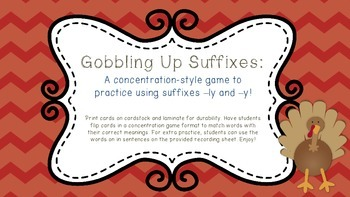 Gobbling Up Suffixes