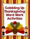 Thanksgiving Literacy Activities: Grades 1-2