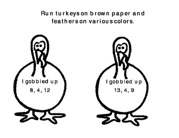 Gobbling up Fact Families