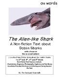 Goblin Sharks - A Non-fiction Reading Passage