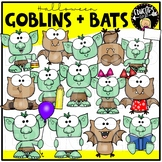 Goblins & Bats Clip Art Set {Educlips Clipart}