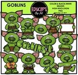 Goblins Clip Art Bundle {Educlips Clipart}