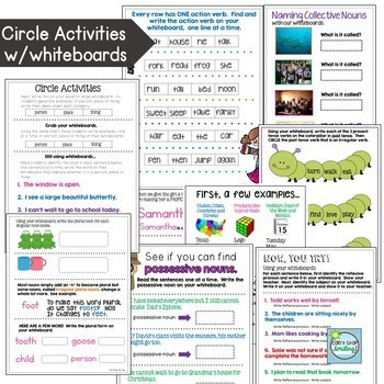 2nd Grade Grammar ~ Grammar for the Year with Pacing Calendar and Lessons