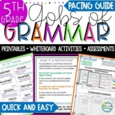 5th Grade Grammar No Prep Lessons Whiteboard Activities and Worksheets