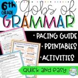 6th Grade Grammar ~ Common Core Aligned