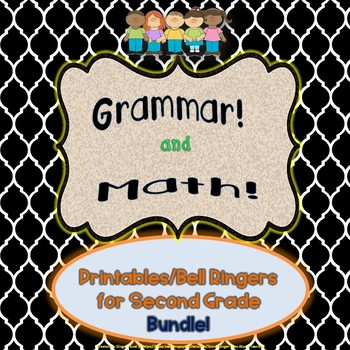 Gobs of Grammar and Oodles of Math Bundle
