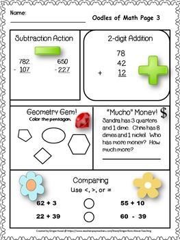 Grammar and  Math Bundle