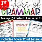 Common Core Grammar 1st Grade ~ Grammar Worksheets ~ 1st Grade Grammar