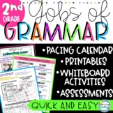 Gobs of Grammar 2nd Grade ~  NO PREP Lessons Activities Worksheets ASSESSMENTS
